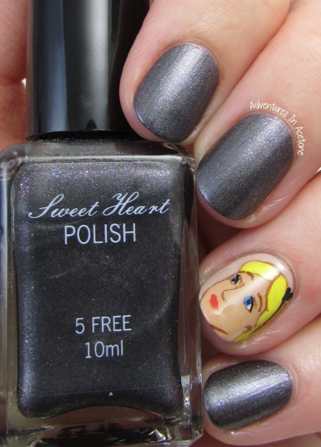 Sweet Heart Polish She's Stark Raving Matte. matte 1