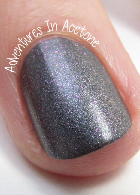 Sweet Heart Polish She's Stark Raving Matte. matte macro