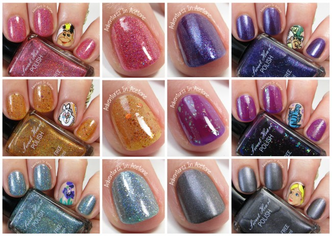 Sweet Heart Polish Wonderous Collection Collage