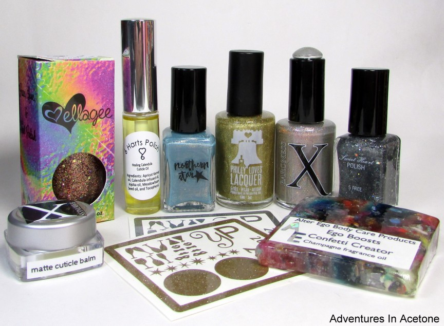 Cheers To You! Collaboration Box Review! - Adventures In Acetone