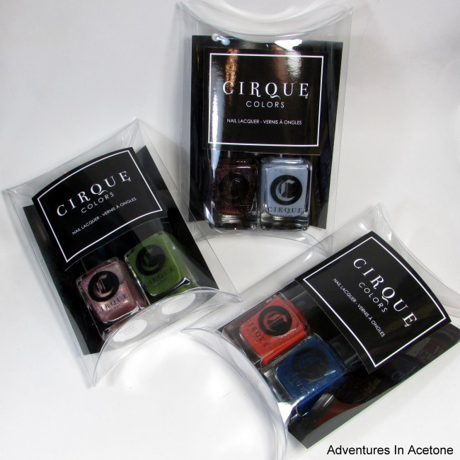 Cirque Colors ICON DUOS FOR THE OPENING CEREMONY POP-IN