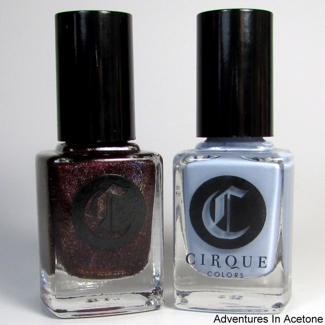 Cirque Colors Oporto and Storm King icon duo