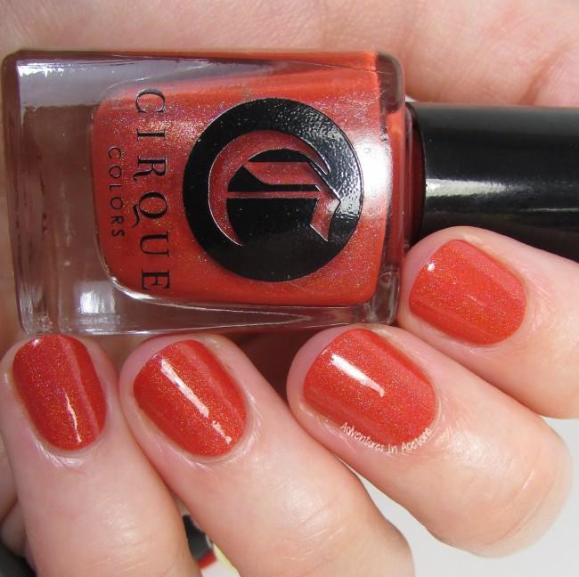 Cirque Colors Tangerine Dream 3