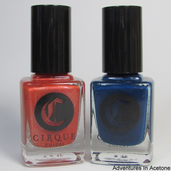 Cirque Colors Tangerine Dream and Selvedge Icon Duo