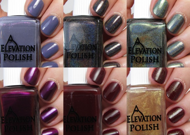 Elevation Polish The Glacier Collection collage