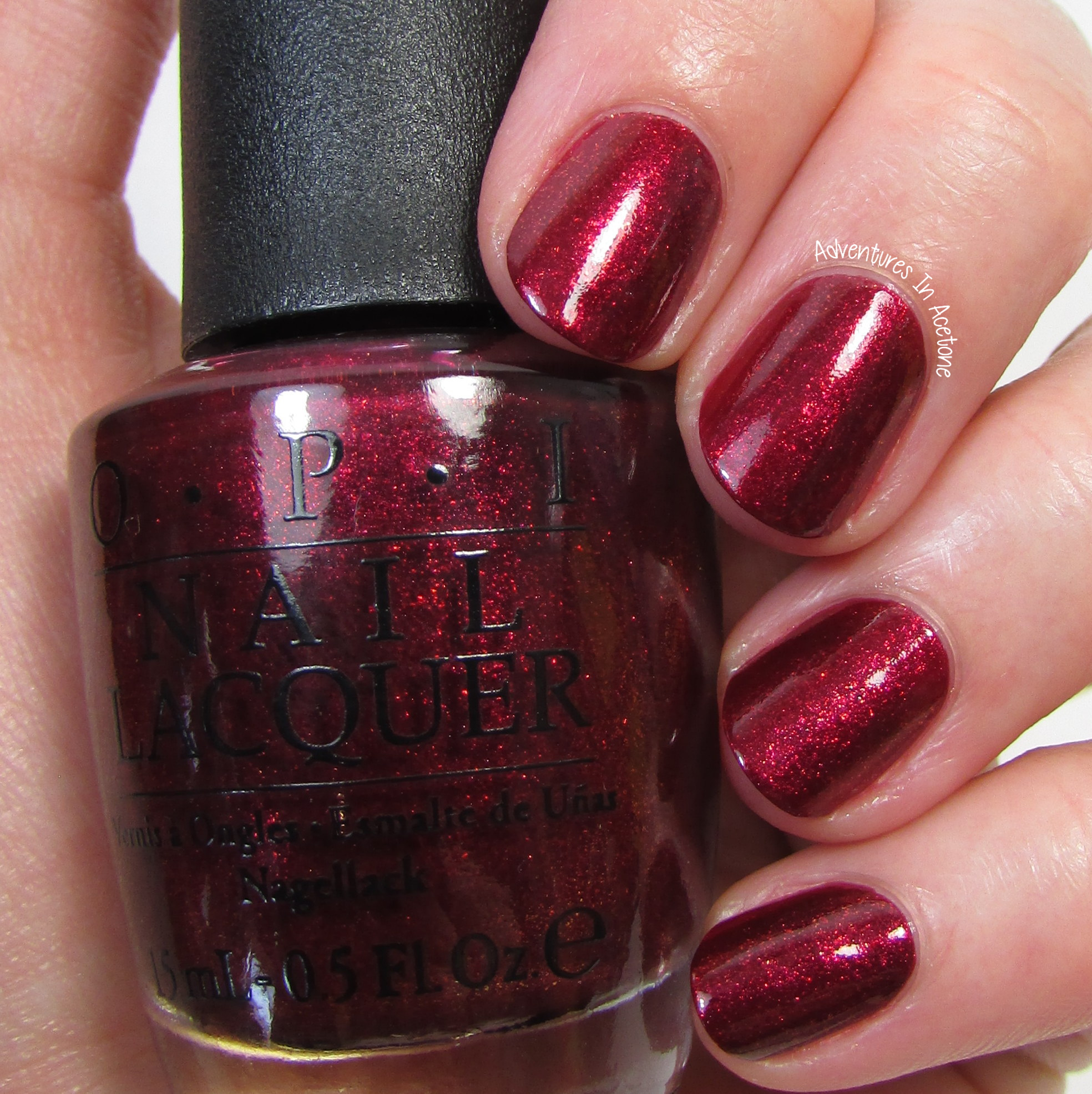 Swatch Sunday: OPI Starlight Collection - Adventures In Acetone