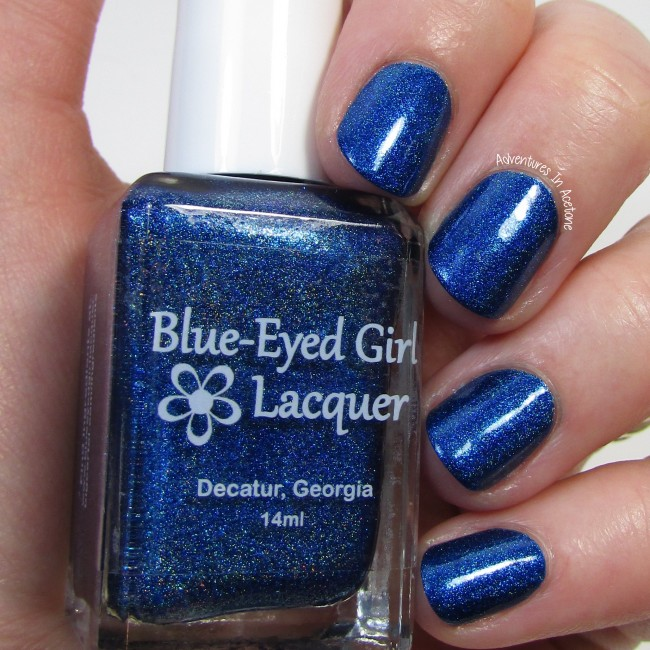 Blue-Eyed Girl Lacquer Hint of a Spark 1