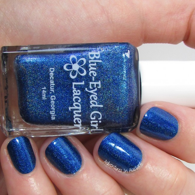 Blue-Eyed Girl Lacquer Hint of a Spark 2