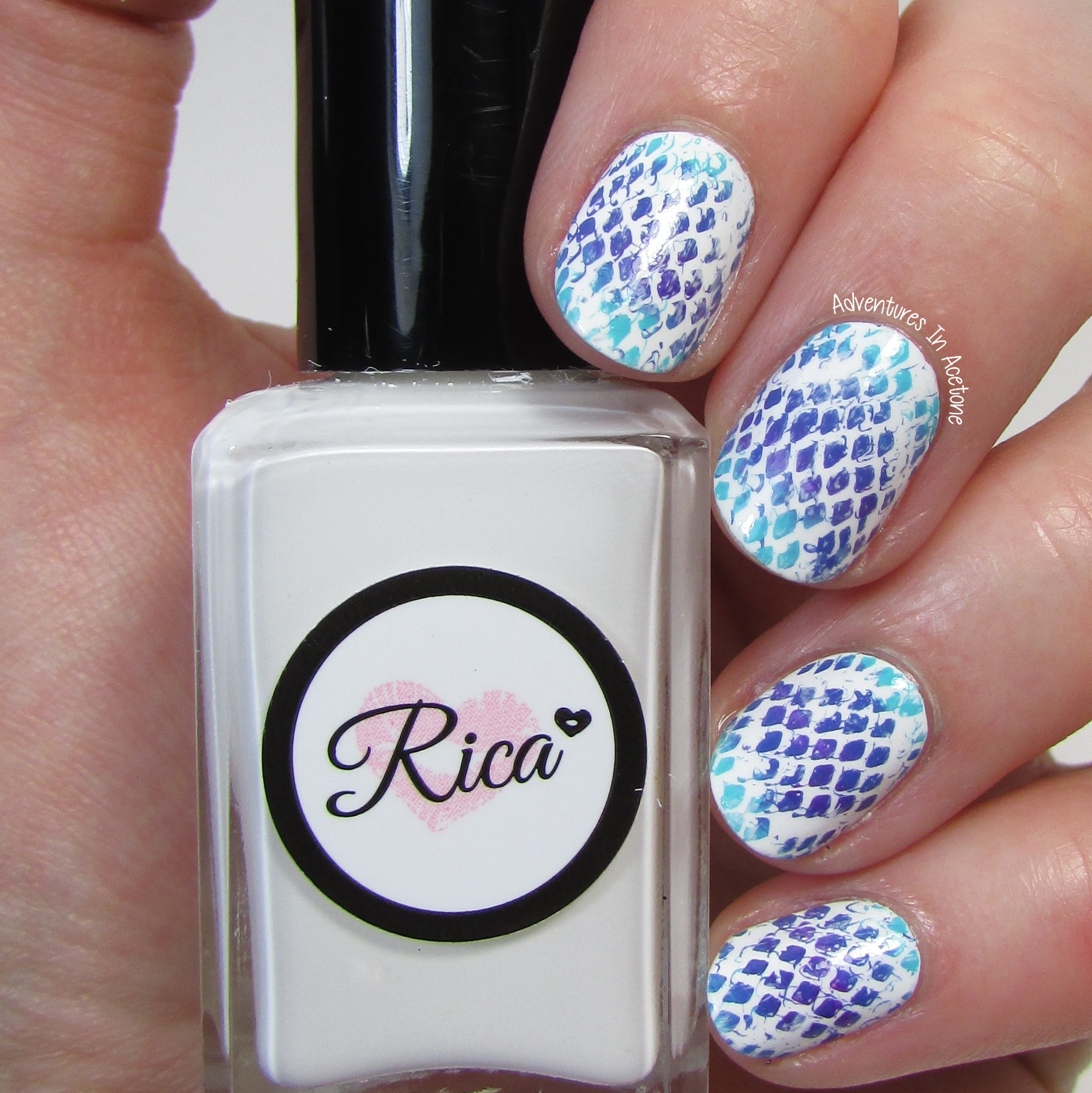 OtterBox iPhone Case Inspired Snake Skin Nail Art - Adventures In ...