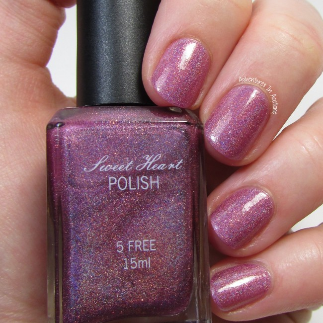 Sweet Heart Polish Love is in the Berry 1