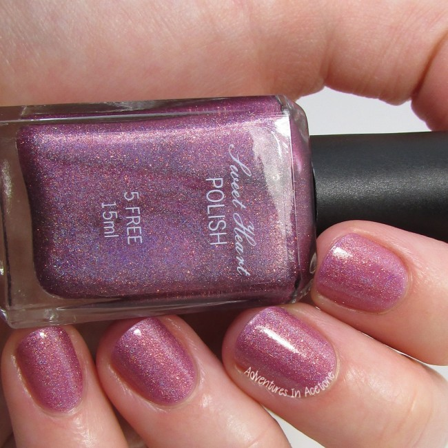 Sweet Heart Polish Love is in the Berry 2