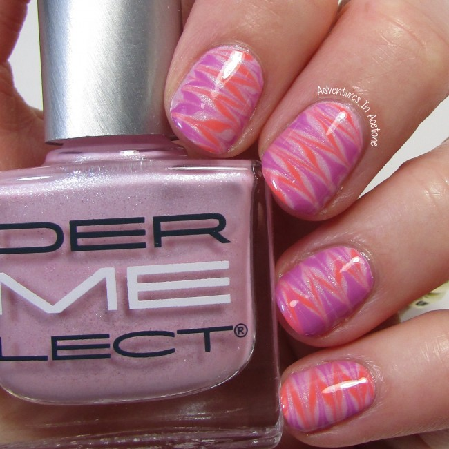 Dermelect %22ME%22 Spring 2016 Outburst Collection Needle Drag Nail Art 1