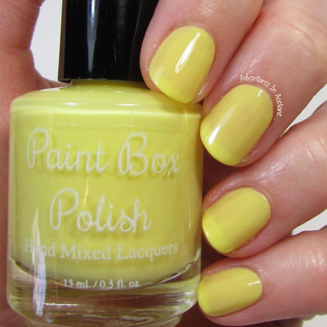 Paint Box Polish Ananas 1