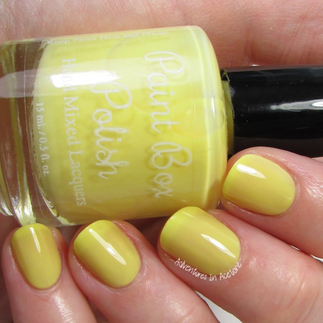 Paint Box Polish Ananas 2