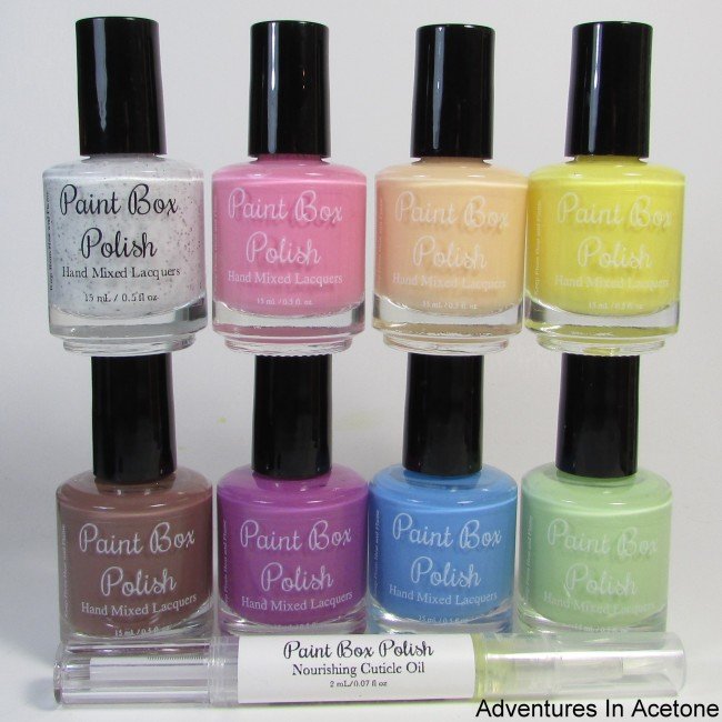 Paint Box Polish Ciao, Gelato Collection