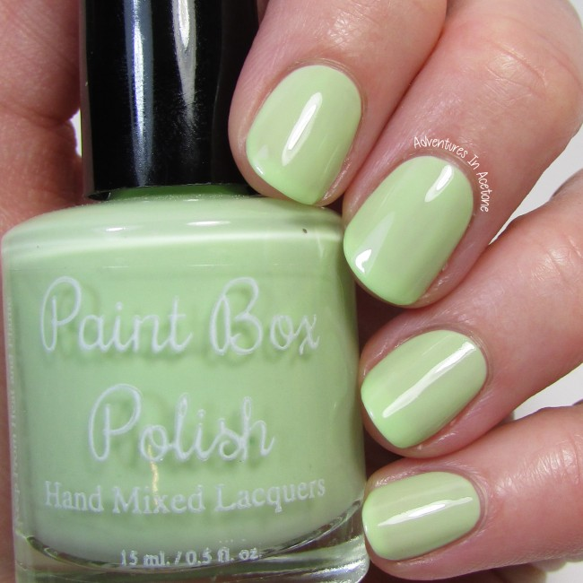 Paint Box Polish Pistacchio 1