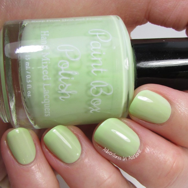 Paint Box Polish Pistacchio 2