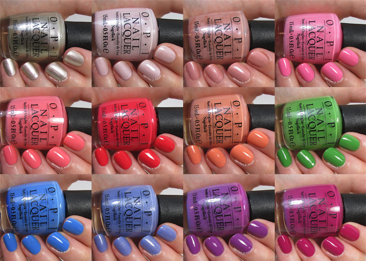 Swatch Sunday: OPI New Orleans Collection - Adventures In Acetone