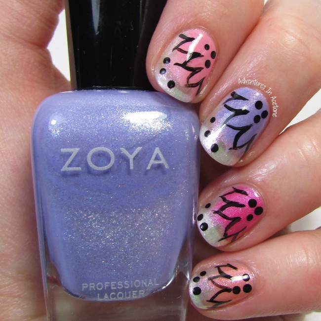 Zoya Petals Collection Splash Floral 3