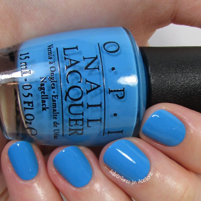 OPI Fearlessly Alice 2