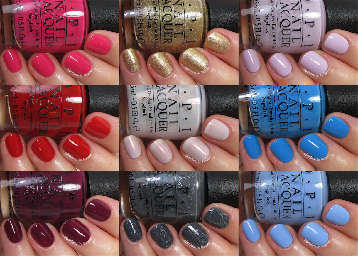 Swatch Sunday: OPI Alice Through The Looking Glass Collection ...