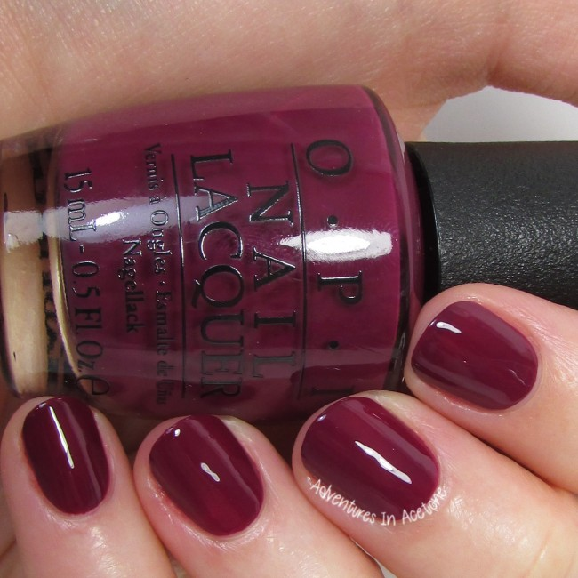OPI What's the Hatter with You? 2