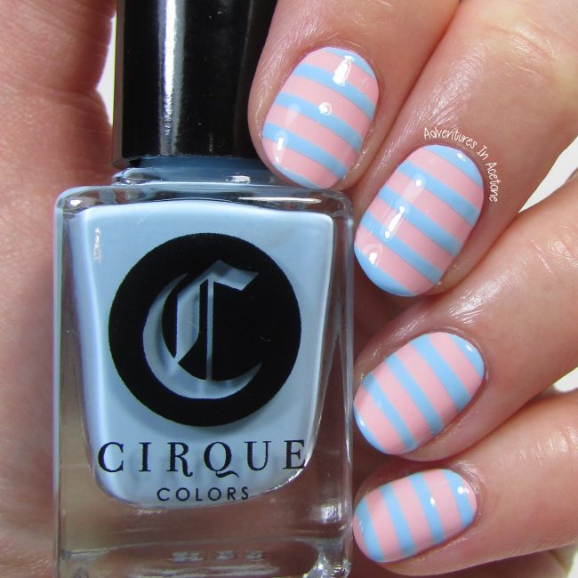 Cirque Colors Stripe Stencil Kit 1