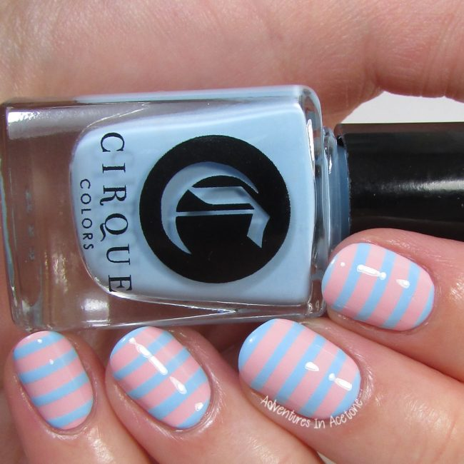 Cirque Colors Stripe Stencil Kit 2