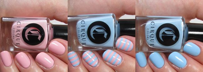 Cirque Colors Vans Stripe Stencil Kit Collage