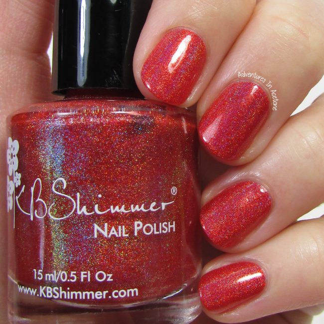 KBShimmer Poppy Kisses 1