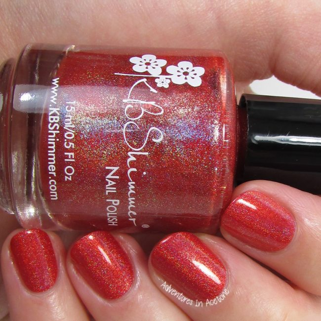 KBShimmer Poppy Kisses 2