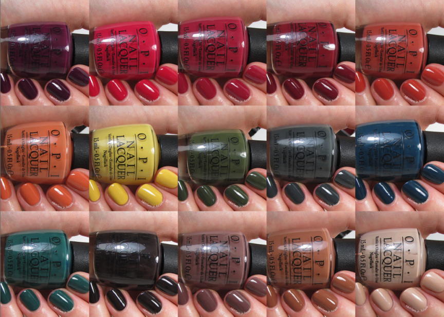 Swatch Sunday: OPI Washington D.C. Collection - Adventures In Acetone