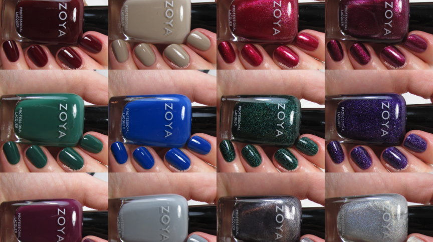 Zoya Urban Grunge Collection Collage small
