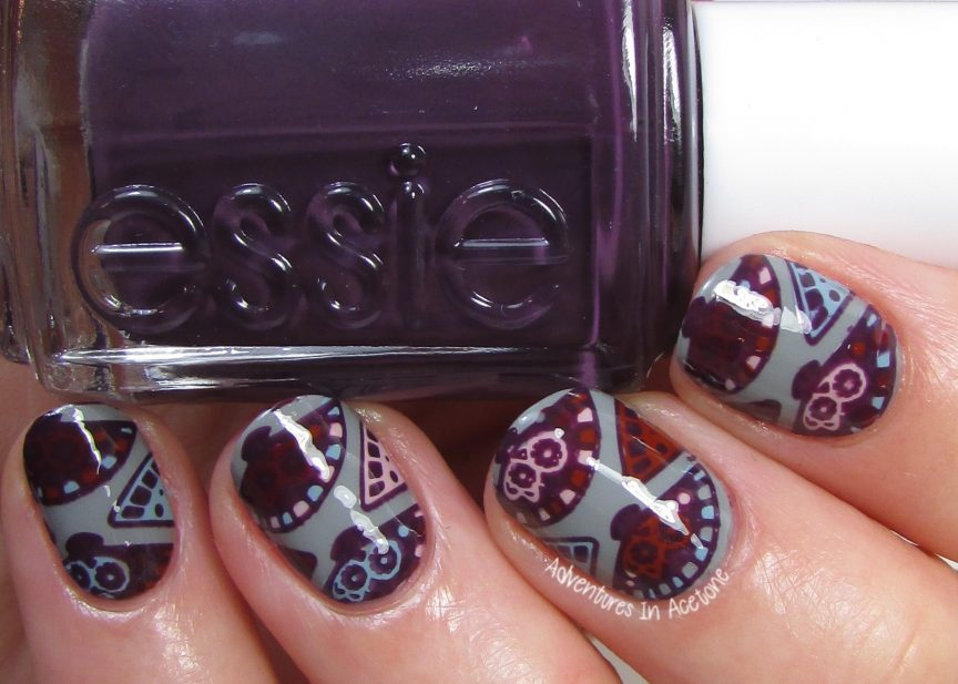 Fan Stamping Decals with Essie Fall For Japanese Collection ...