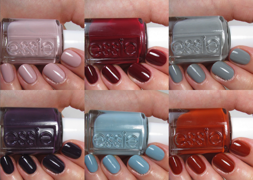 Swatch Saturday: Essie Fall For Japanese Collection - Adventures In ...