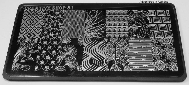 Creative Shop Stamping Plate 31