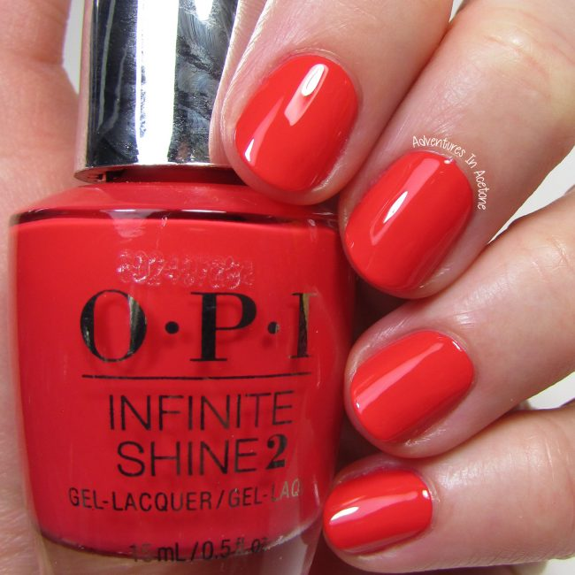 OPI Infinite Shine Cajun Shrimp 1