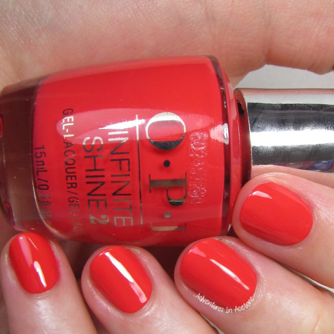 OPI Infinite Shine Cajun Shrimp 2