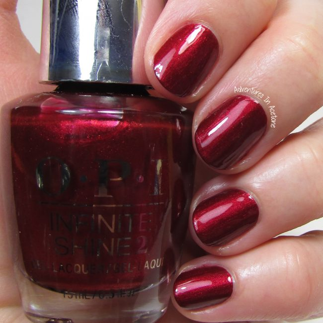 OPI Infinite Shine I'm Not Really A Waitress 1