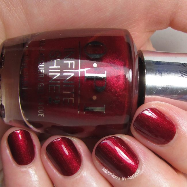 OPI Infinite Shine I'm Not Really A Waitress 2