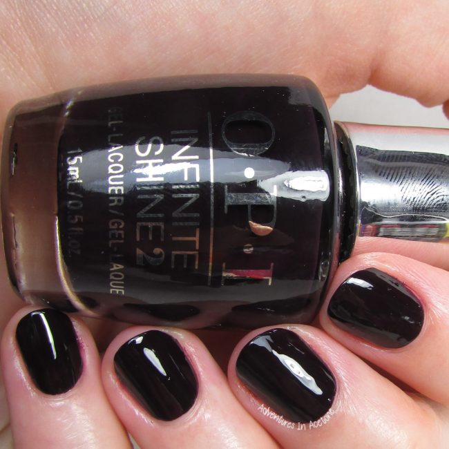 OPI Infinite Shine Lincoln Park After Dark 2