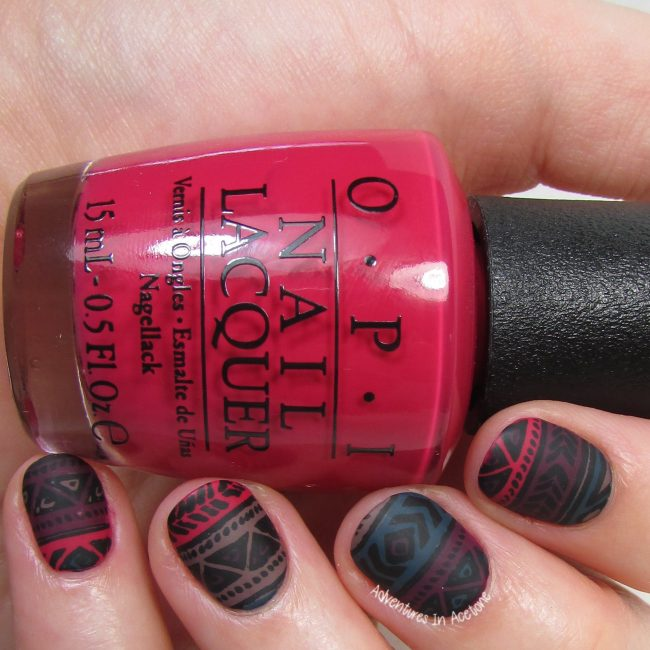 Tribal Nail Art Stamping Decals 1-001
